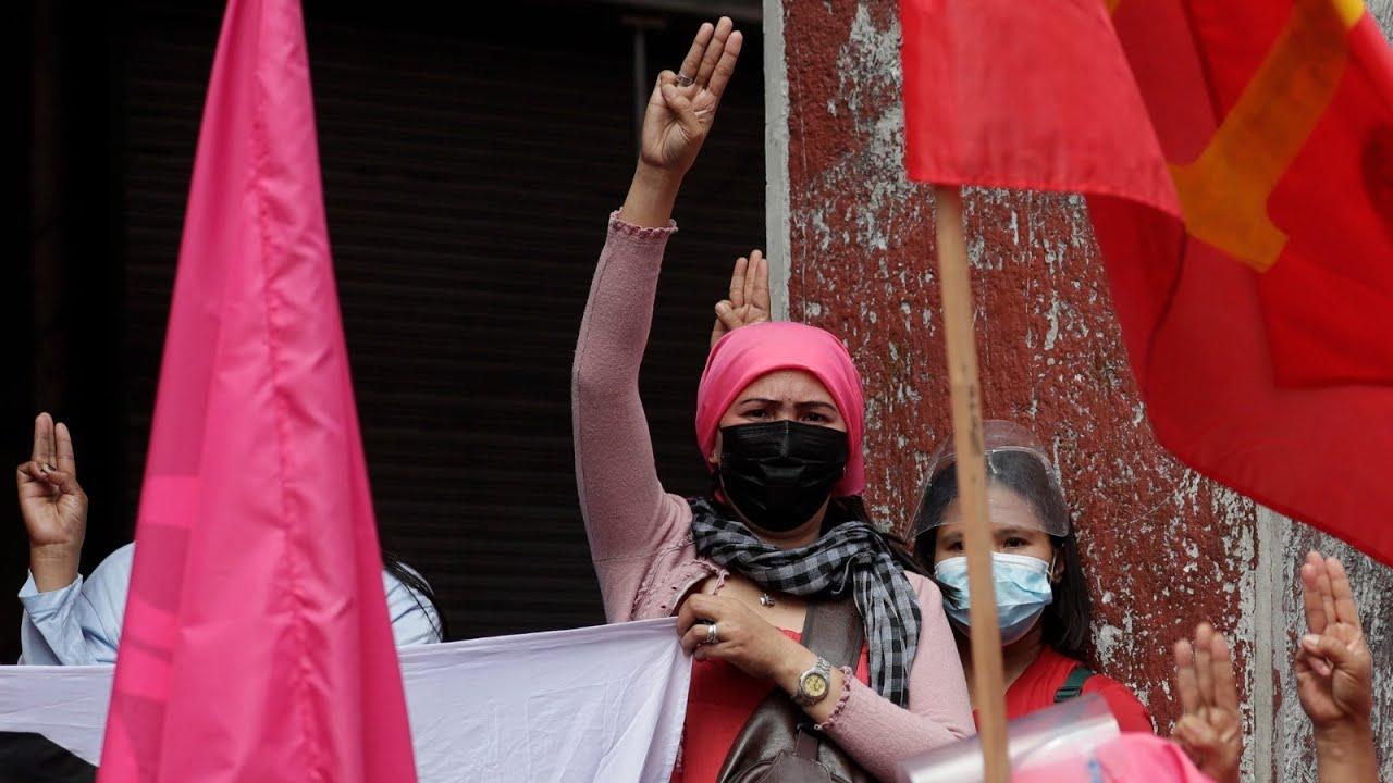 تظاهرات في مختلف أنحاء آسيا في مناسبة اليوم العالمي للمرأة  - نشر قبل 3 ساعة