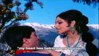 Kora Kagaz Tha Yeh Man Mera (Eng Sub) [Full Video Song] (HQ) With Lyrics - Aradhana
