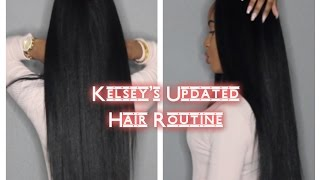 One of glamtwinz334's most viewed videos: Kelsey's Updated Hair Routine