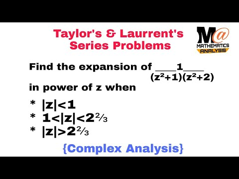 laurent series solved problems