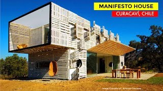 Manifesto House | Container House By James & Mau Arquitectura And Infiniski | Curacaví, Chile