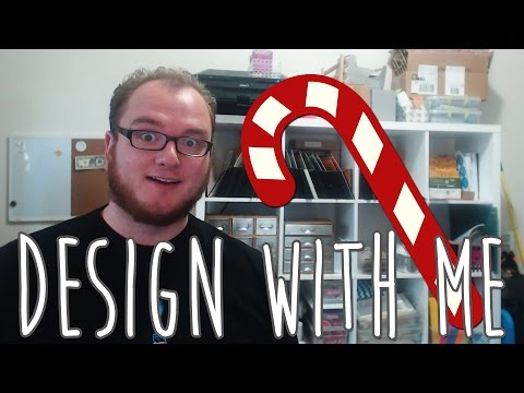 Design with Me   Holiday Candy Cane