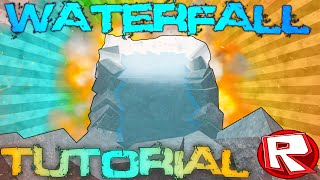 ROBLOX Building Tutorial: Waterfalls! (Best 2015 Commentary)