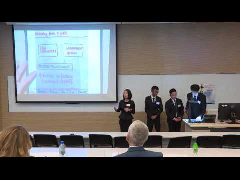 2016 Round 2 H1 HSBC/HKU Asia Pacific Business Case Competition (NUS)