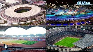 8. Stadion Terbeser di Dunia Menurut Kapasitasnya.