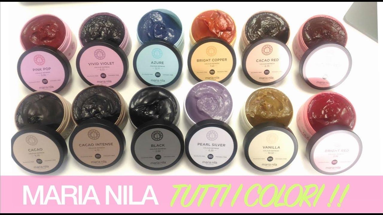 Maria Nila Tutte Le Maschere Colour Refresh Pink Pop