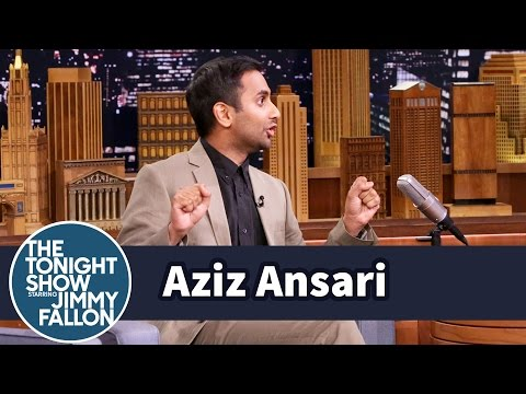 Aziz Ansari Got a Car Stuck Between Two Buildings in Italy