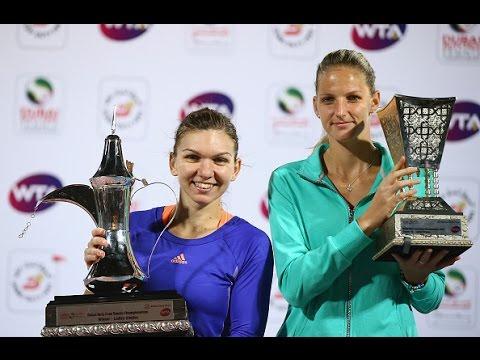 2015 Dubai Duty Free Tennis Championships Final WTA Highlights