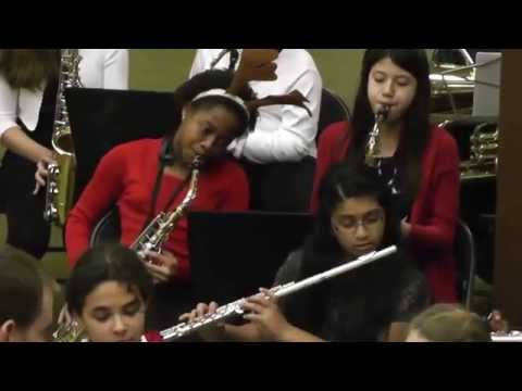 Carolina International School winter Band 1- 2014 Directed by Mr Jason Schultz
