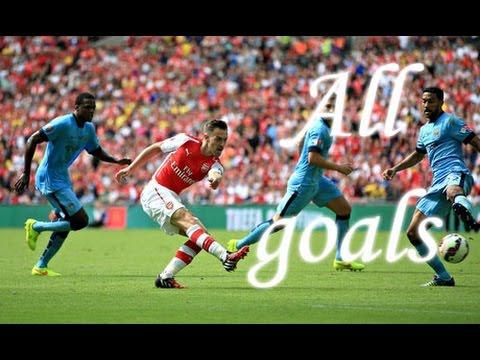 Arsenal 3-0 Manchester City || Community Shield || 2014 || HD