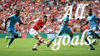Arsenal 3-0 Manchester City  Community Shield  2014  HD