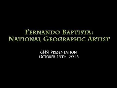 Fernando Baptista - National Geographic Artist