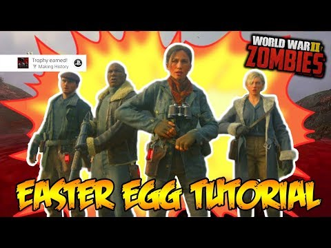"WW2 ZOMBIES ""THE DARKEST SHORE"" 