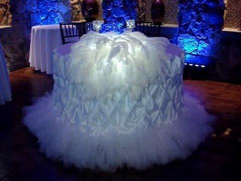 Wedding Sweetheart Table Pintuck Linen Rentals by Sweet 16 ...