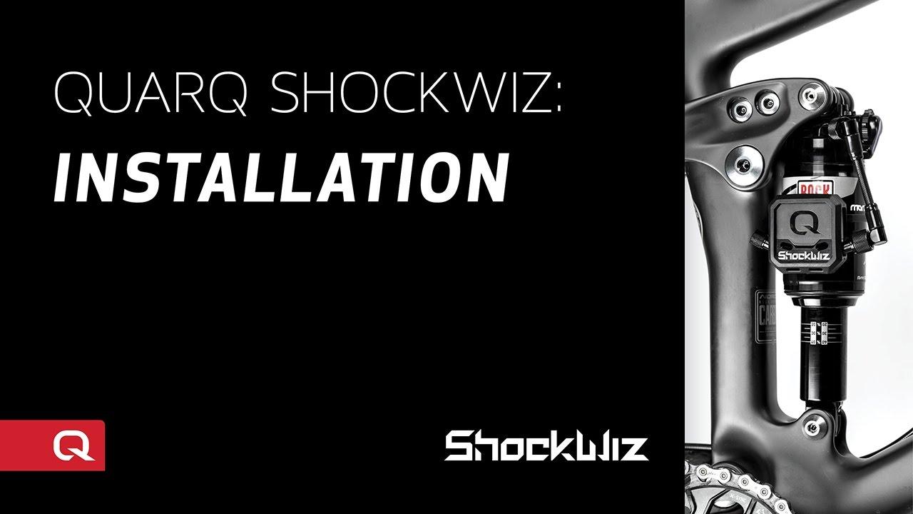 Quarq ShockWiz: Installation