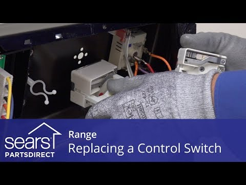 Replacing a Range Surface Element Control Switch - YouTube on