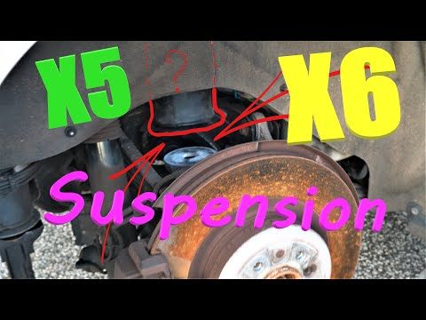 How to replace Fix the Air Suspension on BMW X5 X6 DIY