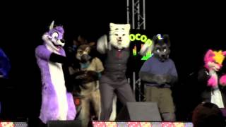"Fur & Twang ""Rubber Band Man"" - Anthrocon 2015 Masquerade"