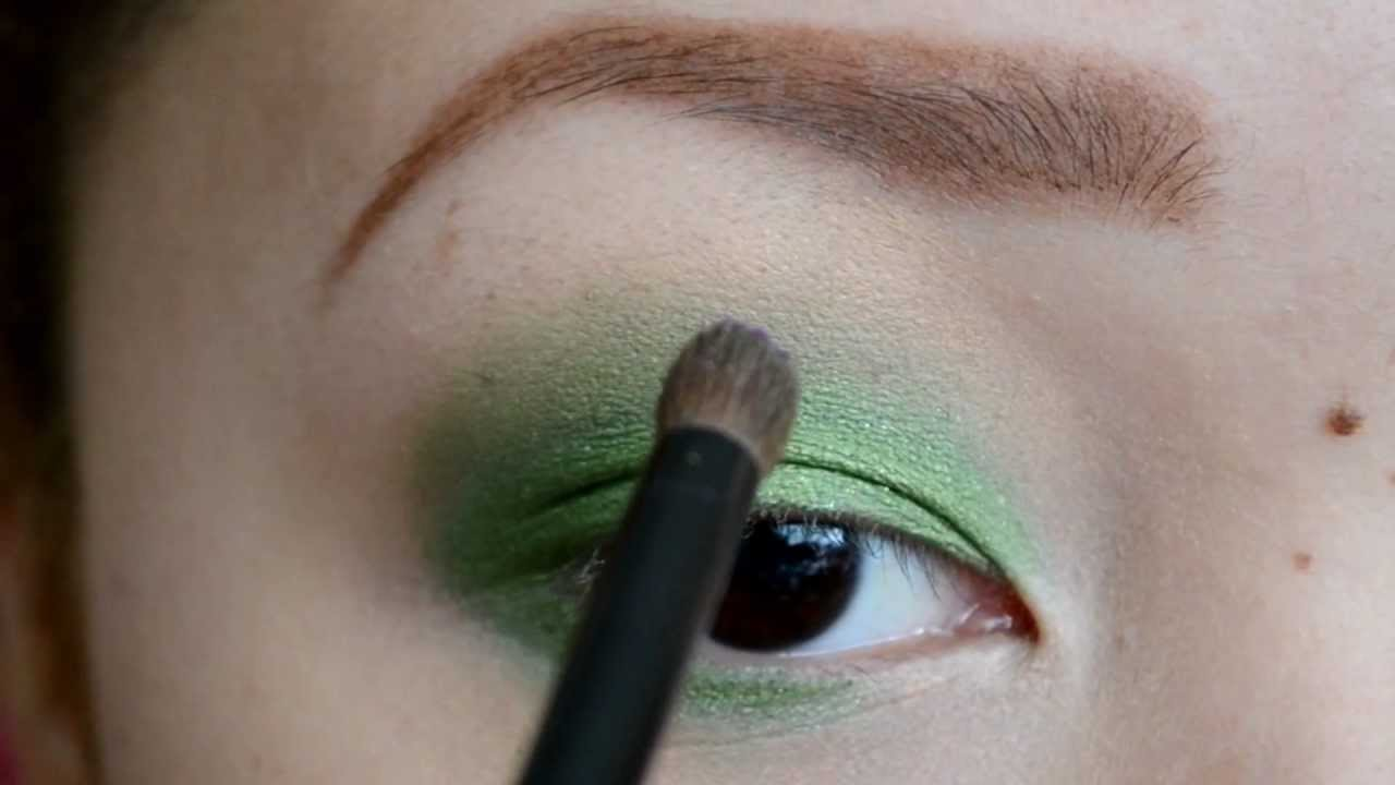 Makeup Tutorial How To Wear Green Purple And Pink Eye Shadow Together