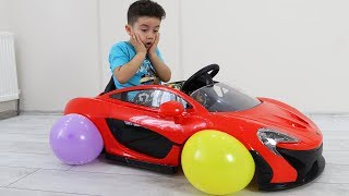 Yusuf's Cordless Car and Balloon Wheels