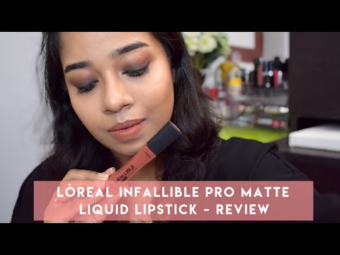 loreal-infallible-pro-matte-liquid-lipstick---review-&-swatch
