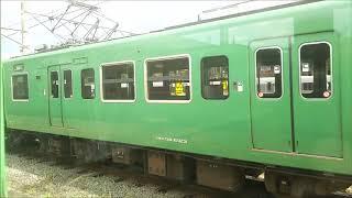 福知山電車区回送線 側面展望