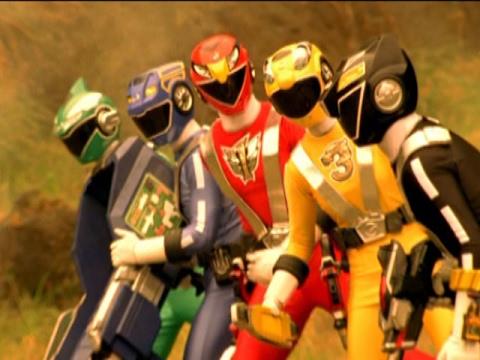 Power Rangers vs Venjix (Power Rangers RPM) - YouTube