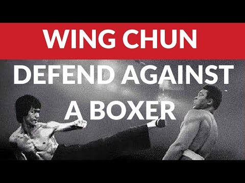 Wing Chun - How To Defend Against A Boxer