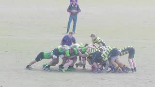 Mason Middleton 2016 and 2017 JV and Varsity Clayton Copperheads Rugby Highlights