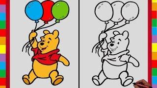 Como dibujar Winnie Pooh paso a paso / How to Draw Winnie Pooh step by step