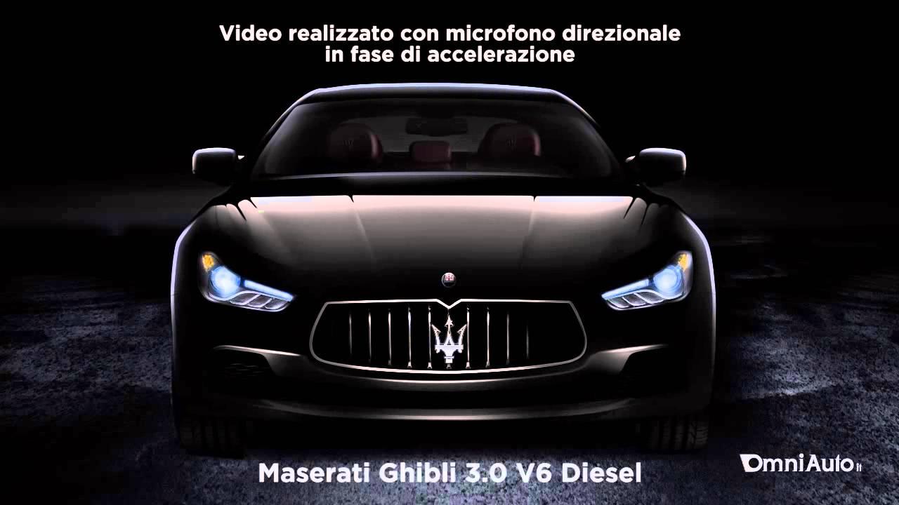 Maserati Ghibli Diesel Sound Youtube