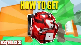 {EVENT} HOW TO GET BATTLE BACKPACK *RARE* (Roblox Battle Arena Event)