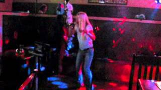 "Kelly sings ""You Oughta Know"" at Karaoke Night"
