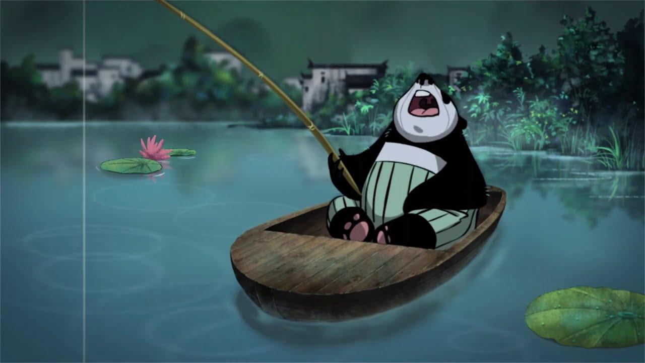 Cuando menos te lo esperas, alguien puede rescatarte de una muerte segura. No olvides nunca a esa o esas personas. Panda In The Rain (Un panda bajo la lluvia) - Animated Short Film - S41E06