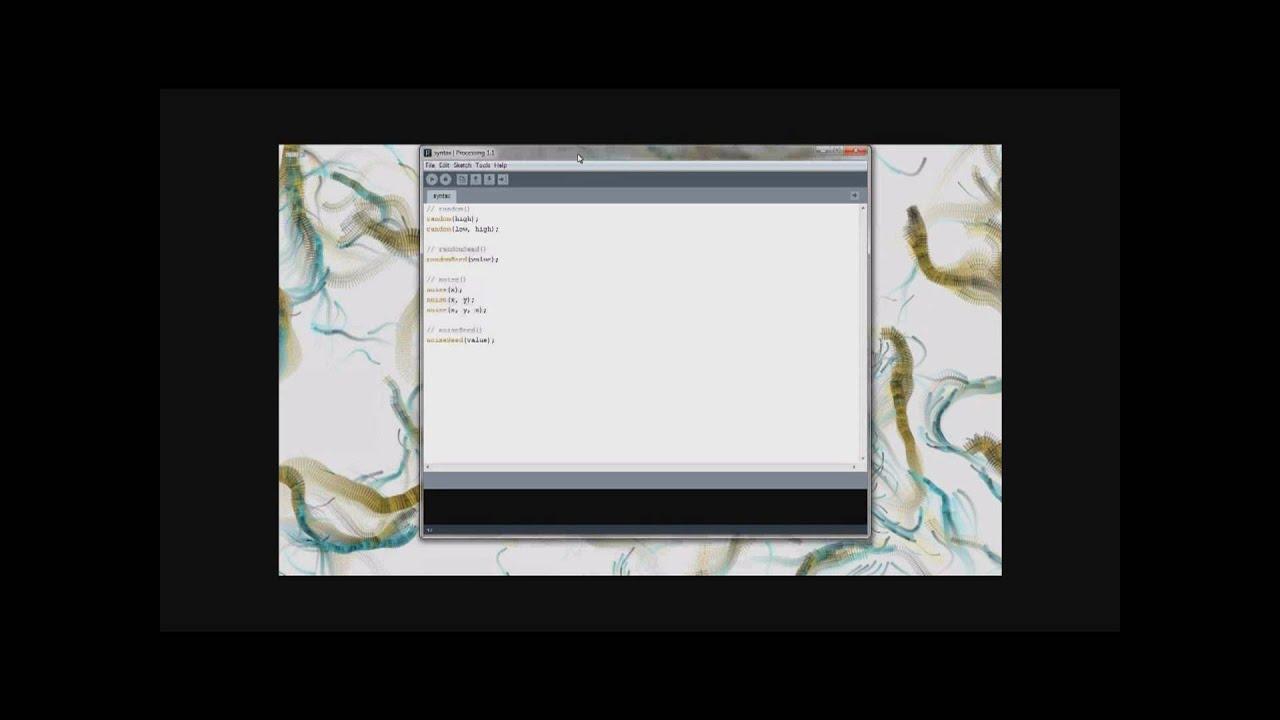WPF Generative Gestaltung: Zufall und Rauschen (Teil 1) - YouTube
