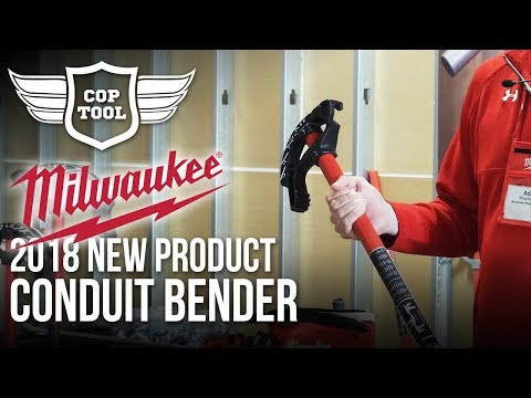 Milwaukee Electrician Conduit Benders 5 New Sizes - NPS18 Presentation
