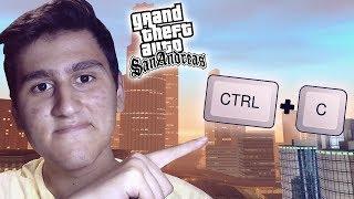 GTA SAN ANDREAS'DA TEK TUŞLA TÜM HİLELERİ YAPMAK ! (MOD)