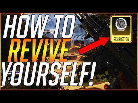 Apex Legends: How To REVIVE YOURSELF! | Apex Legends Resurrection Perk