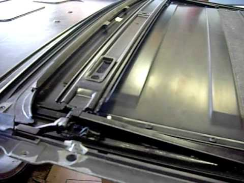 E36 Sunroof Mechanism Opening And Closing Youtube
