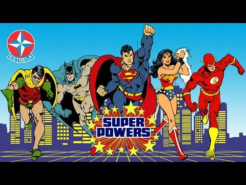 SUPER POWERS - Comercial Estrela 1988