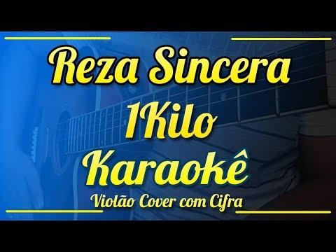 """Cypher """"Reza Sincera"""" - 1Kilo - Instrumental ( Violão cover com cifra e Karaokê )"""