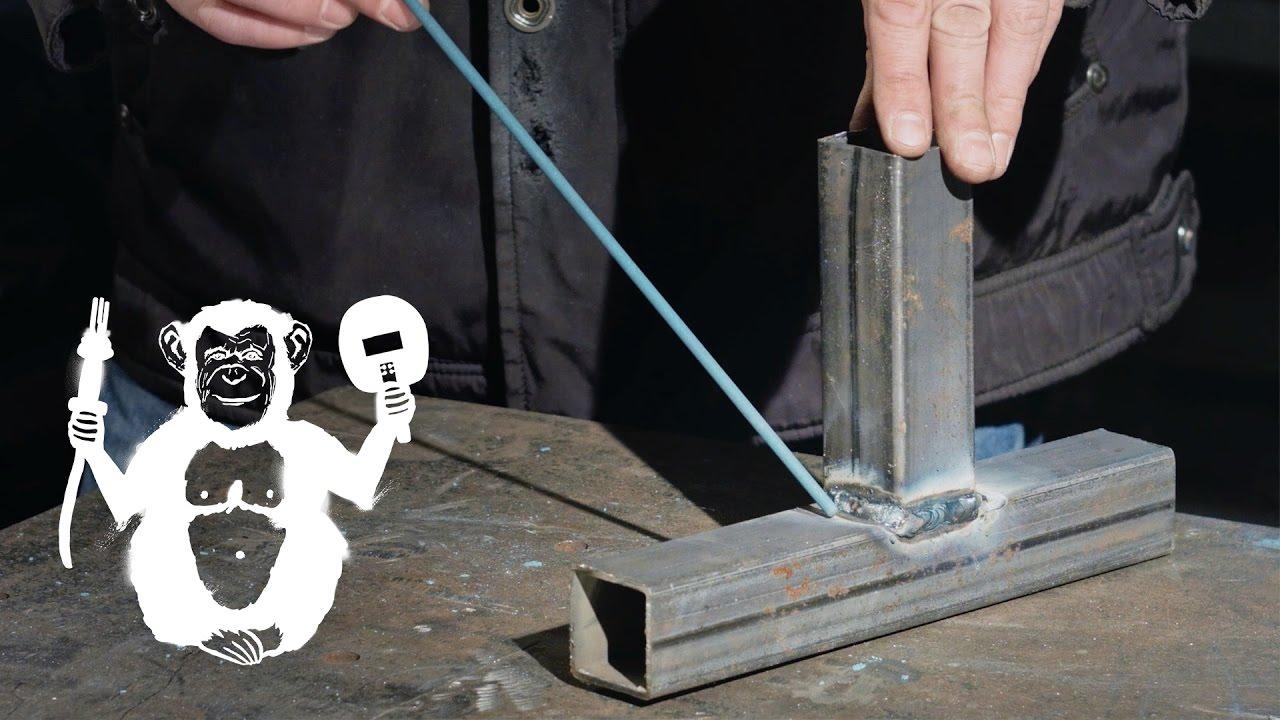 Профиль тавровое соединение электродом Сила - Территория сварки