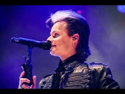 """Lacrimosa - """"Lass die Nacht nicht uber mich fallen"""" in Saint Petersburg, Live, Kosmonavt, 23/11/17"""