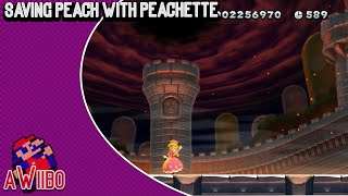 What Happens if Peachette Saves Peach? - New Super Mario Bros. U Deluxe
