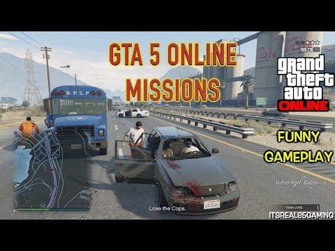 FUNNY GTA ONLINE JOBS #2