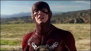 The Flash / Supergirl Crossover Scenes