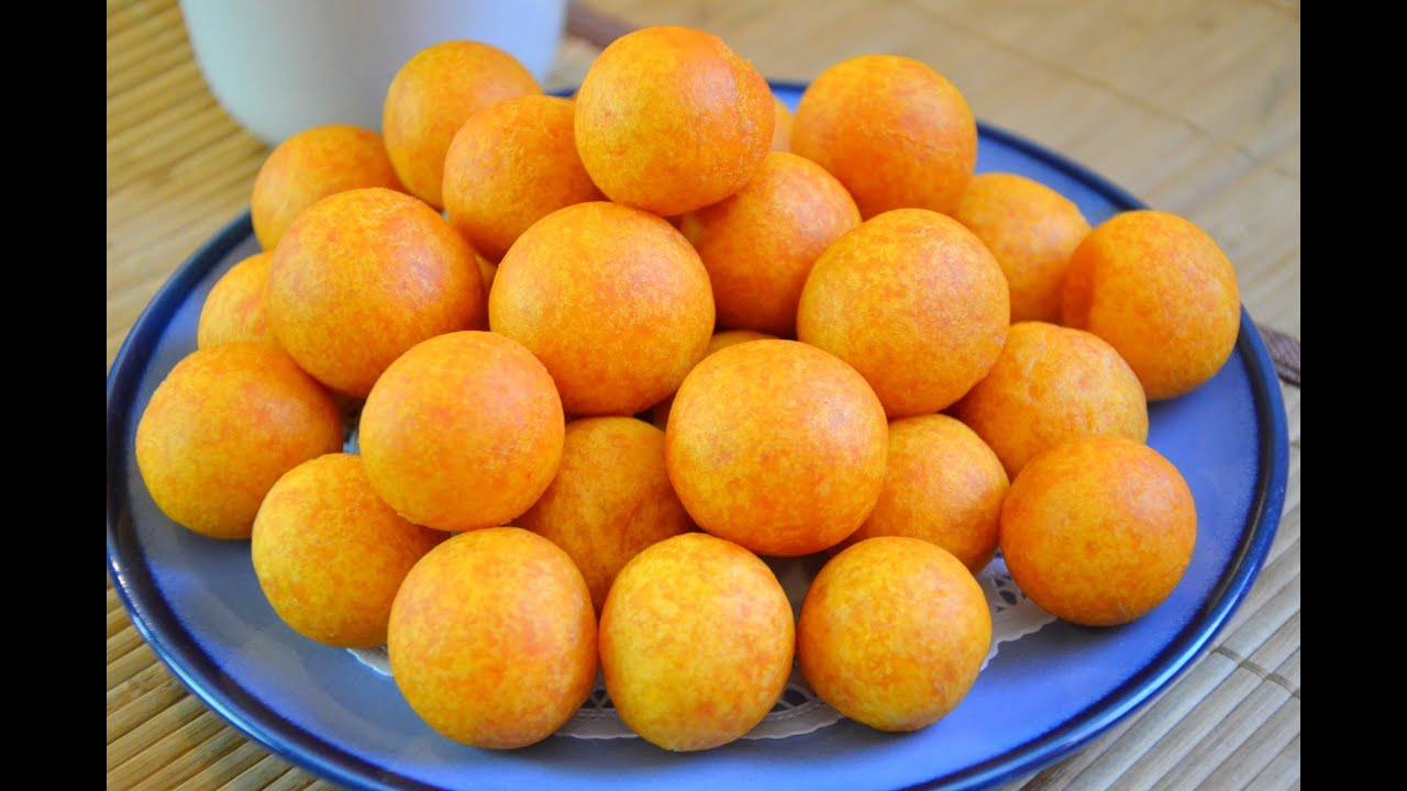 How to Make Thai Fried Sweet Potato Balls ขนมไข่นกกระทา