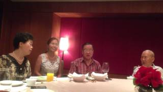 Uncle and Auntie Gao singing with me - Green Island Serenade 綠島小夜曲