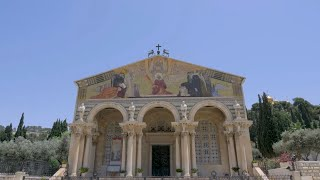 Misa Especial en la Basílica de Jethsemani en Jerusalén por el Coronavirus en Guinea Ecuatorial