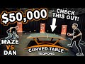 TableTennisDaily's Dan plays TEQPONG with Michael Maze | $50,000